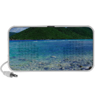 Tropical Island Mary Creek Point Shore St John iPhone Speaker