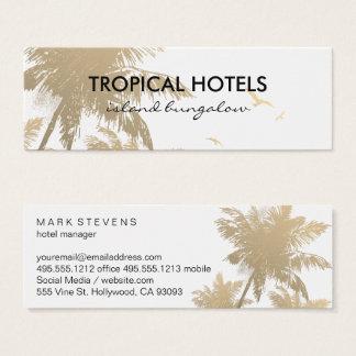Tropical Island Mini Business Card
