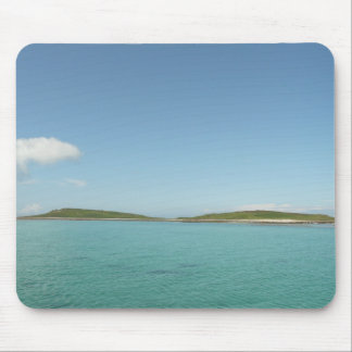 Tropical island. mouse pad