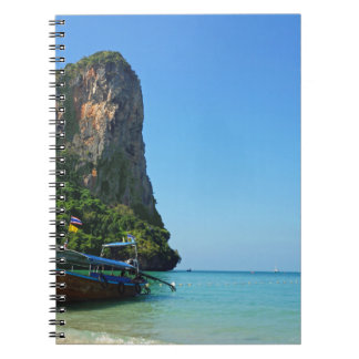 tropical island notebook