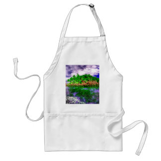 Tropical Island Oasis Adult Apron