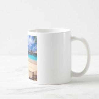 Tropical Island Of French Polynesia Coffee Mug