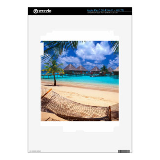 Tropical Island Of French Polynesia Skin For iPad 3