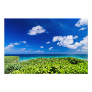 Tropical Island Photo Print
