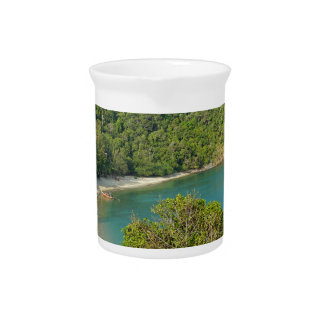 tropical island pitcher
