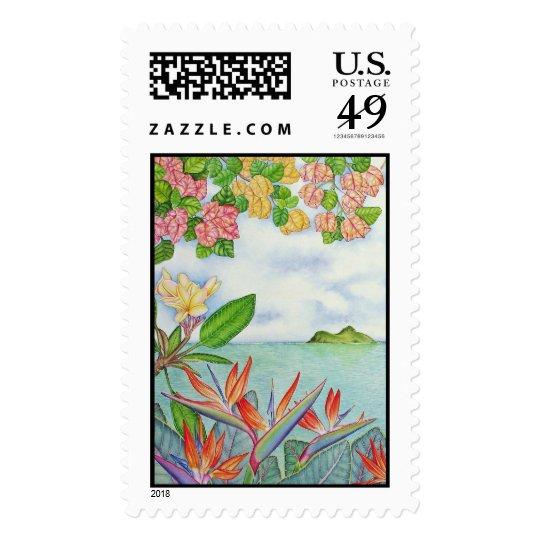 Tropical Island Postage