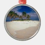 Tropical Island Sandy Anguilla Ornament