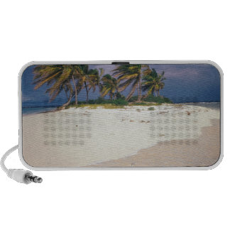 Tropical Island Sandy Anguilla Portable Speakers