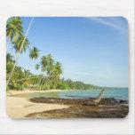 Tropical Island Scenery Mousepads