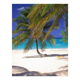 Tropical Island Seven Mile Grand Cayman Letterhead