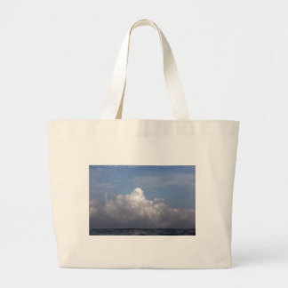 Tropical Island storm clouds Tote Bag