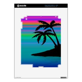 Tropical Island Sunset iPad 2 Decal
