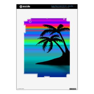 Tropical Island Sunset iPad 3 Decal