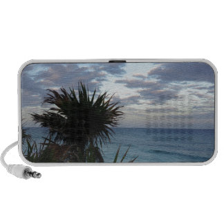 Tropical Island Sunset Portable Speakers