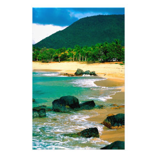 Tropical Island The Shores St Martin Personalized Stationery