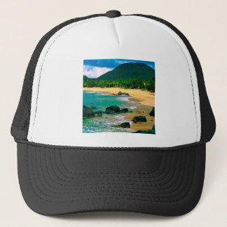 Tropical Island The Shores St Martin Trucker Hat