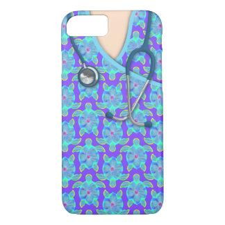 Tropical Island Turtles Medical Scrubs iPhone 7 Case