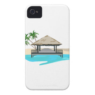 Tropical Island Welcome Dock iPhone 4 Cover