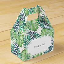 Tropical Islands Plants Monstera Deliciosa Favor Box