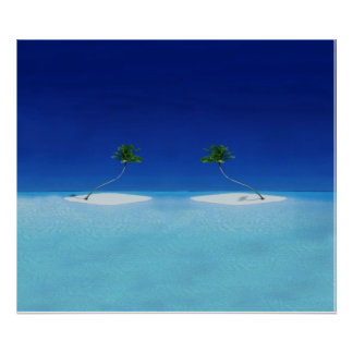 Tropical Islands Poster