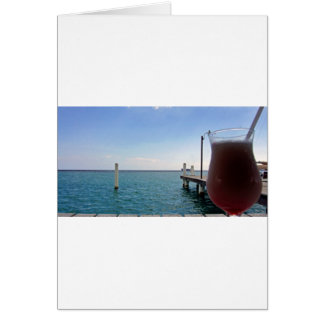 tropical jette and cocktail card