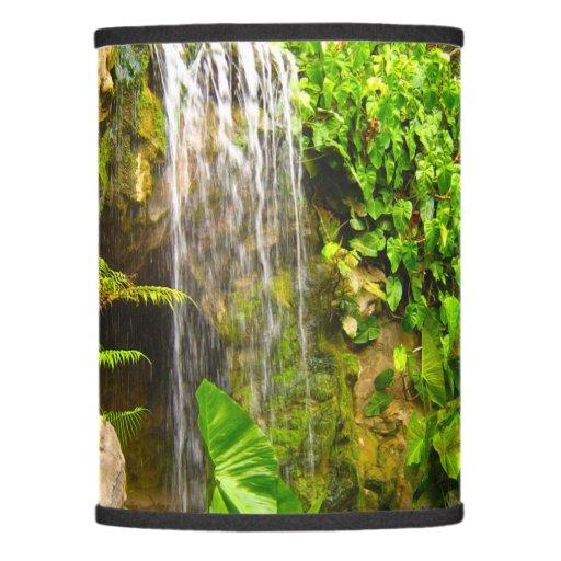 Tropical Jungle Waterfall Lamp Shade Zazzle