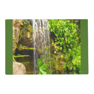 Tropical Jungle Waterfall Placemat