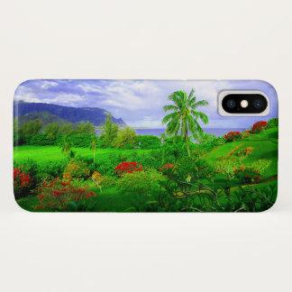 Tropical Kauai Hawaiian Island iPhone X Case