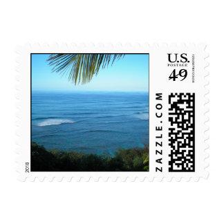 Tropical Kauai Ocean Postage