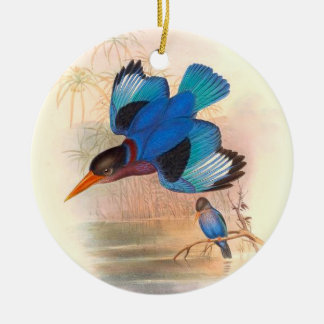 Tropical Kingfisher Birds Ornament
