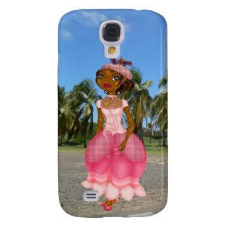 Tropical Lady HTC vivid étui Galaxy S4 Cover