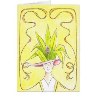 Tropical Lady I Card