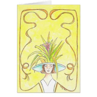 Tropical Lady II Card