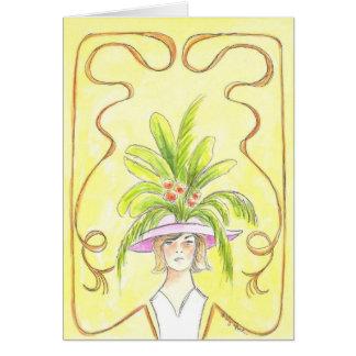 Tropical Lady III - Card