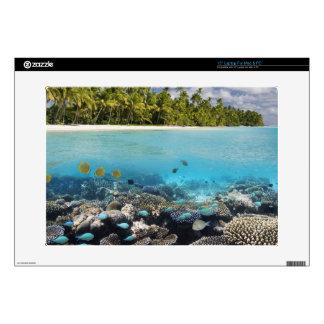 "Tropical Lagoon in South Ari Atoll 15"" Laptop Decal"