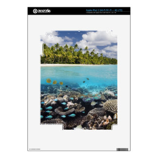 Tropical Lagoon in South Ari Atoll Decals For iPad 3