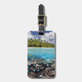 Tropical Lagoon in South Ari Atoll Luggage Tag