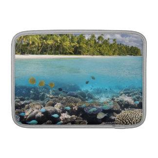 Tropical Lagoon in South Ari Atoll MacBook Air Sleeve