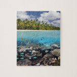 Tropical Lagoon in South Ari Atoll Puzzle