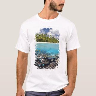Tropical Lagoon in South Ari Atoll T-Shirt