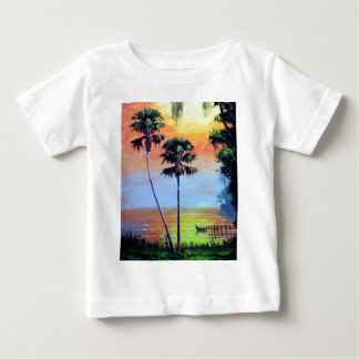Tropical Lake Beauty Baby T-Shirt