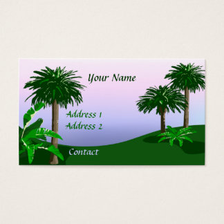 Tropical Landscape Business Card