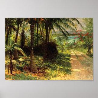 Tropical Landscape Poster