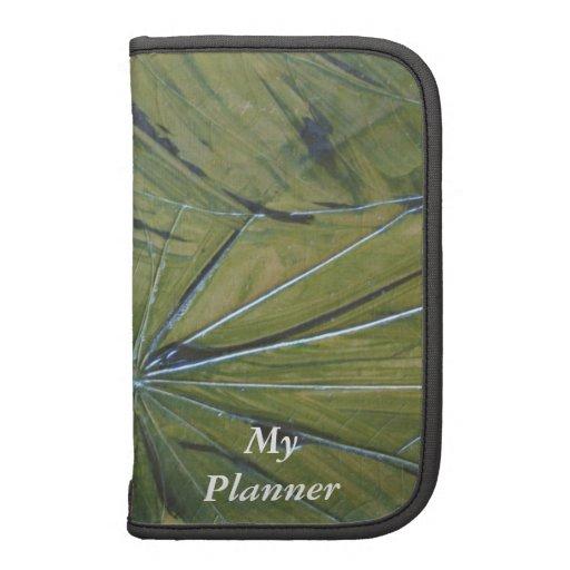 Tropical Leaf Folio Folio Planners