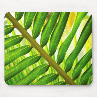 Tropical leaf mouse pad