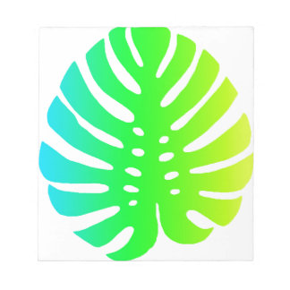 Tropical Leaf Notepad