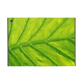 Tropical leaf pattern ipad mini case