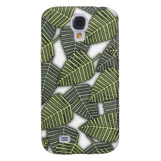 Tropical Leaf Pern. Galaxy S4 Cover