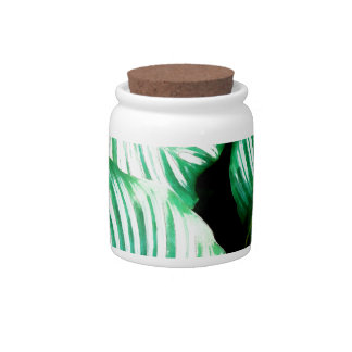 Tropical Leaves Candy Dishes