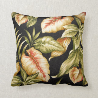 Tropical Leaves & Ferns - American Mojo Pillow